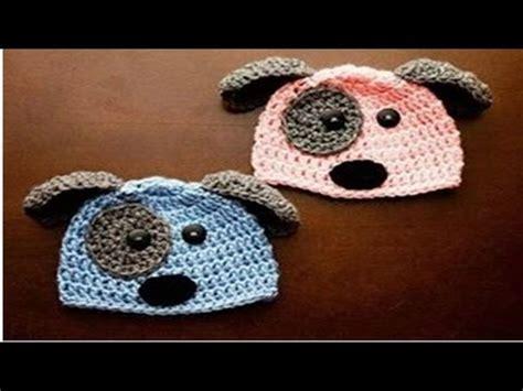 gorros tejidos en crochet para bebes de animalitos 2016 gorros con dise 209 o de animalitos tejidos a crochet para