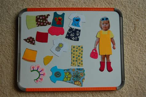 How To Make Magnetic Paper Dolls - 1000 ideas about paper magnetic dolls on