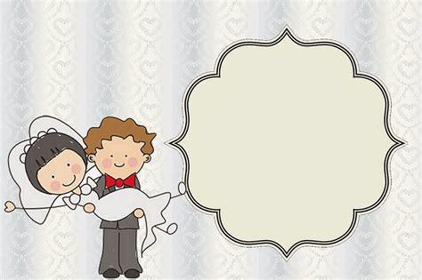 invitacines para boda para imprimir y editar imagui caricatura de novios invitaciones para imprimir gratis