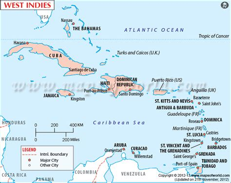 world map with country name west indies westindies map showing the west indies island countries