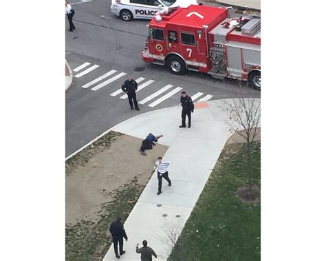 Ohio Officer Shooting by Breaking Vehicle Smashes Into Students At Ohio State