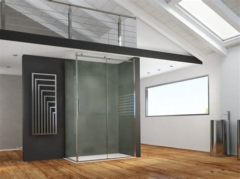 box doccia in acciaio inox box doccia angolare rettangolare in acciaio inox in stile