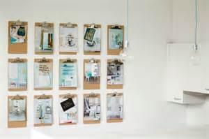 Home Design Blog Diy clipboards als decoratie