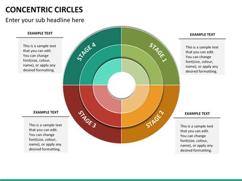 concentric circles powerpoint template concentric circles powerpoint sketchbubble