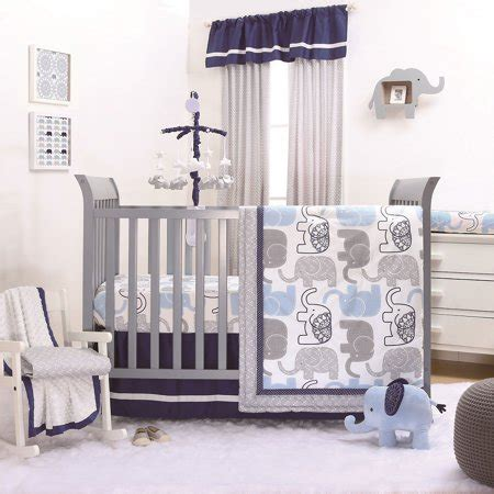 the peanut shell 4 baby boy crib bedding set