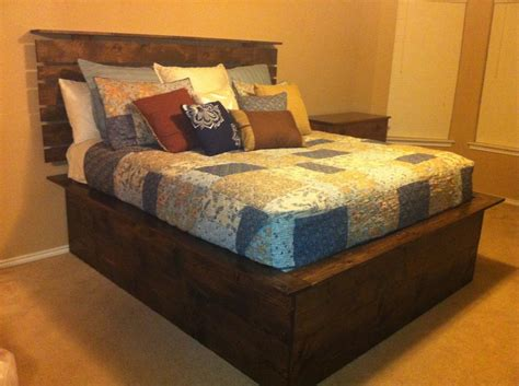 High Platform Bed 1000 Ideas About High Platform Bed On Pinterest Board Bed Bed Frame And Rustic Patio