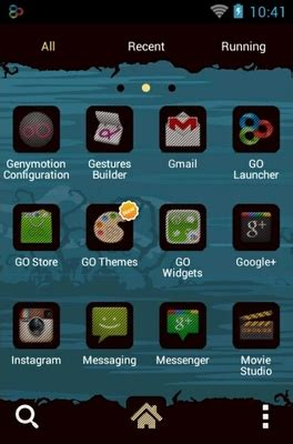 halloween themes for android halloween android theme for go launcher androidlooks com