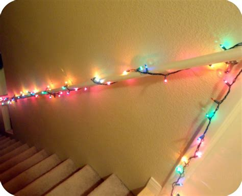Banister Lights by New Indoor Decor The Reveal Searsrealcheer