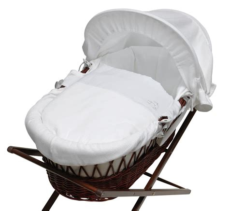 moses basket drapes baroo my little stars moses basket white drapes on a dark