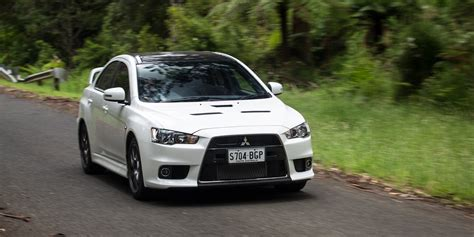 mitsubishi lancer evolution 2016 mitsubishi lancer evolution x review edition