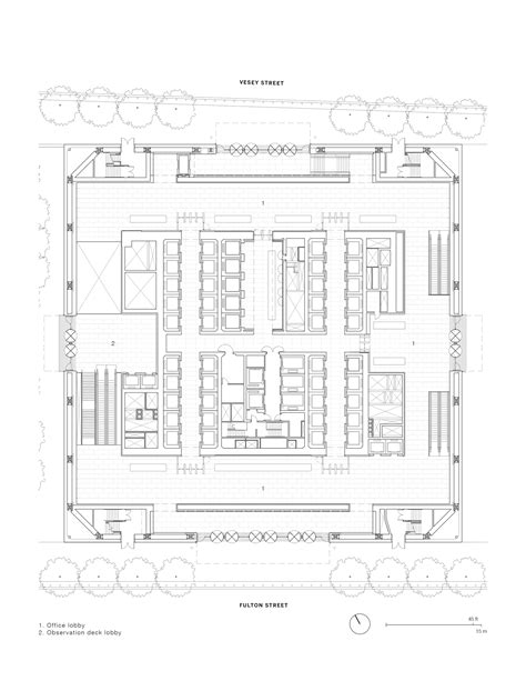one world trade center floor plan gallery of one world trade center som 42