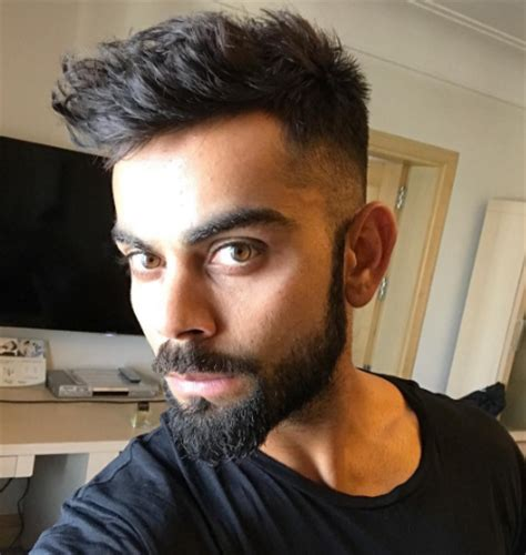 virat kohli new hair style 2017 hairstyle side cut hd