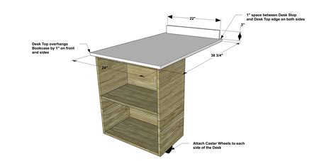 How To Stop Bed Frame From Rolling Free Diy Furniture Plans How To Build A Sized Low Loft Bunk With Roll Out Desk