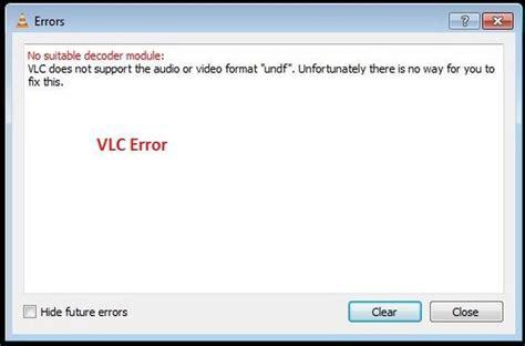 format audio non supporté come rimediare ad un vlc che non supporta il formato undf