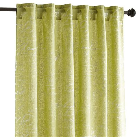 pier one curtains panels amelie curtain green 84 quot pier 1 imports living room