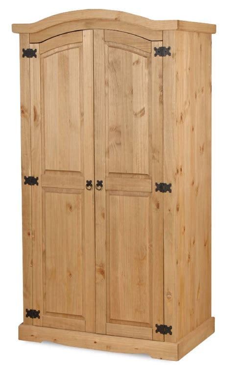 Mexican Pine Wardrobes by Mexican Solid Pine Furniture Curved Wardrobe Ebay