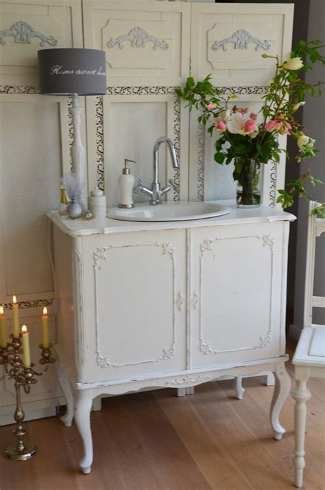 shabby chic bathroom sink shabby chic love this dresser turned into a sink shabby