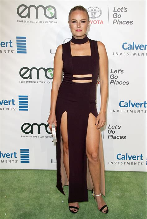 Malin Crepin 2016 by Malin Akerman Wears Dangerously Leggy Dress To Ema Awards