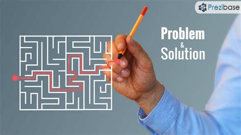 Problem and Solution Prezi Template   Prezibase