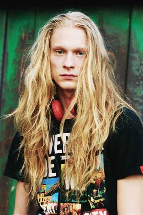 men longhair hyperboard bad boys with long hair photo