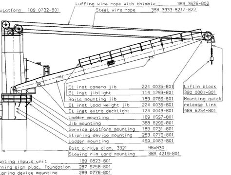 deck boat handling diagrams of ship cranes wiring circuit