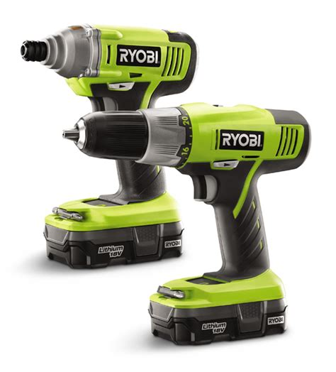 win a ryobi 18v drill and impact driver from home depot