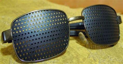 Kacamata Pinhole Glasses Tipe 05 Terapi Mata Rabun Jauh Dekat Silinder kacamata pinhole kacamata pinhole berbahaya kacamata