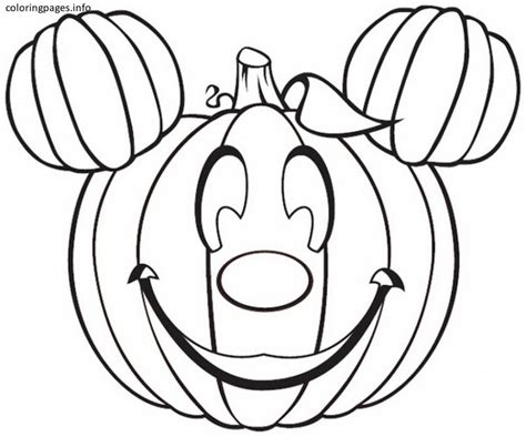 pumpkin coloring page pdf mickey mouse pumpkin coloring pages pdf free printable