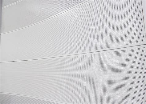 Perforated Metal Ceiling Panels by Curved Aluminum Wall Panel Perforated Metal Ceiling