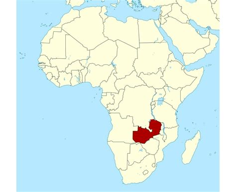 maps  zambia collection  maps  zambia africa