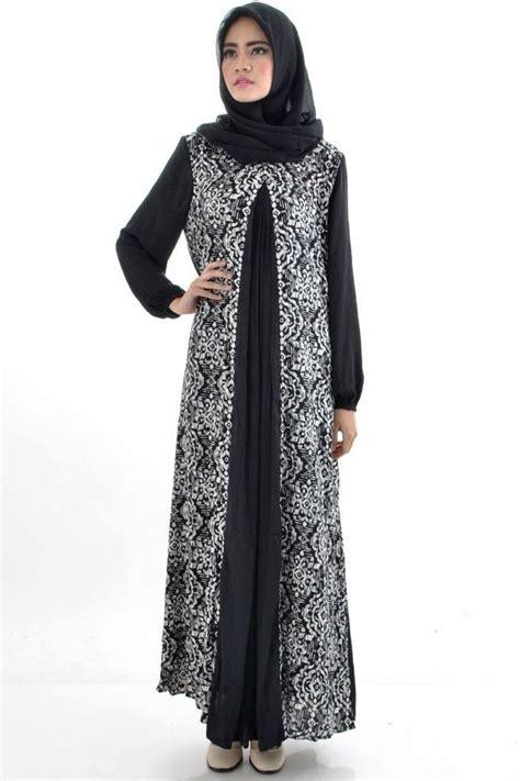 model gamis batik terbaru  modern  mencuri perhatian