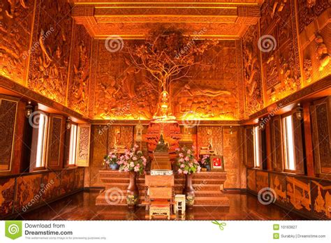 Remodel Floor Plans interior of wholly teak wood church thailand royalty free