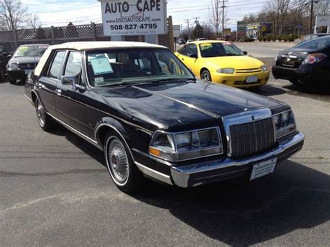 service manual how to sell used cars 1985 lincoln continental navigation system how to bleed