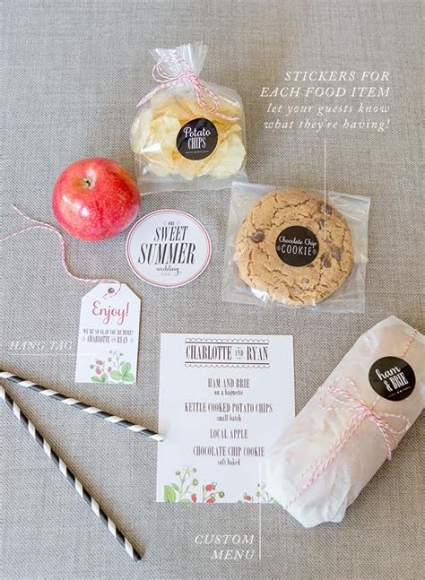 wedding box lunch ideas how to build a boxed lunch for a picnic or bbq wedding