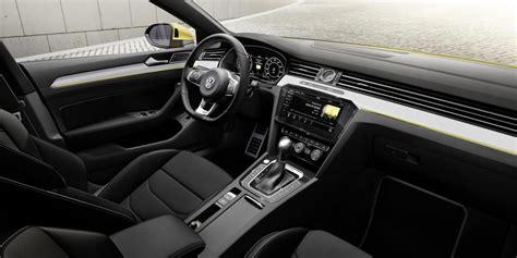 new line upholstery volkswagen arteon revealed as sporty new passat cc