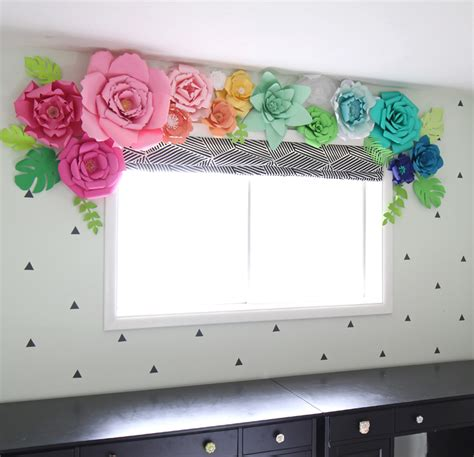 How To Make A Window Out Of Paper - the craft patch 27 amazing flower crafts