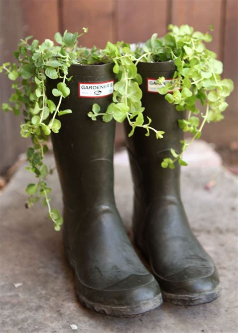 17 Best Images About Boots In The Garden On Pinterest Boot Planter