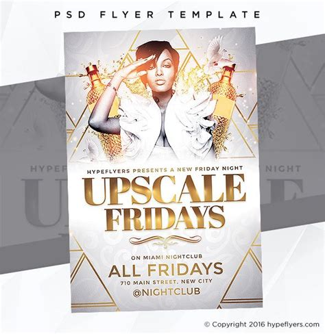 Nightclub Event Flyer Templates