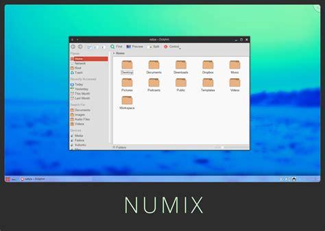 desktop themes kde numix kde theme by satya164 on deviantart