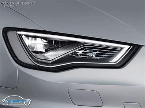Audi A3 Sportback Scheinwerfer by Foto Bild Audi A3 Sportback Scheinwerfer Angurten De