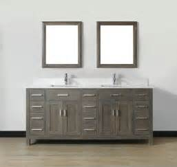 60 White Double Vanity How To Choose Double Bathroom Vanities Bath Decors