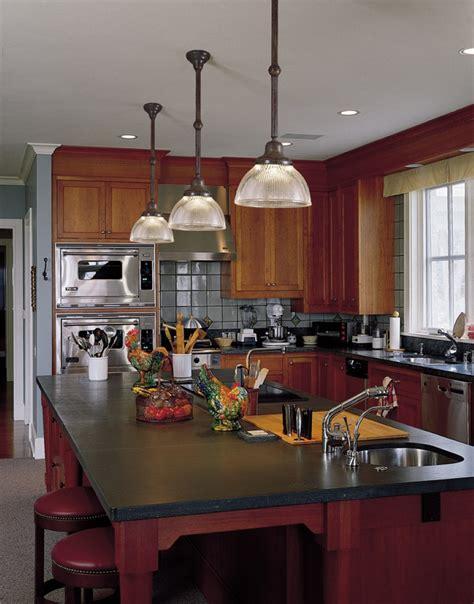 glass pendant lighting for kitchen islands combining classic and modern kitchen island lighting