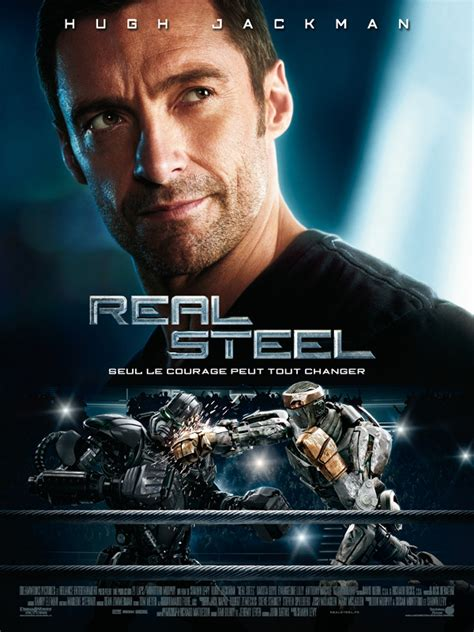 film avec un robot qui boxe real steel film 2011 allocin 233