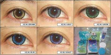 Murah Grosir Softlens Eye No 6 Soft Lens Eye Number 6 W 1 it s story review my circle lenses x2 no 1 brown and grey by exoticon
