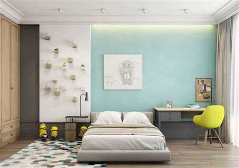 color block bedroom a pair of trendy houses with distinctively shiny colour themes