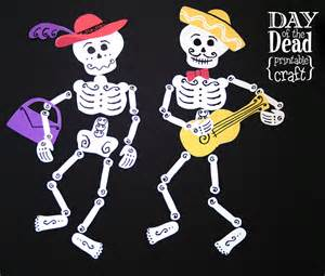 day of the dead template day of the dead printables craft todaysmama