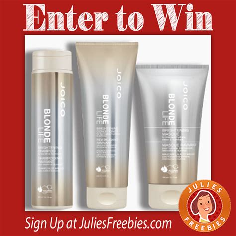 Blonder Giveaway Contest Mound by Quiz Sweepstakes Julie S Freebies
