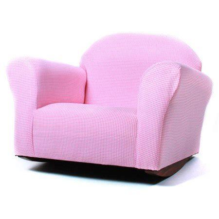 fantasy furniture roundy gingham rocking kids chair