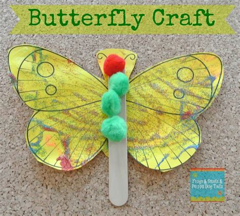 butterfly crafts hungry caterpillar butterfly template www pixshark