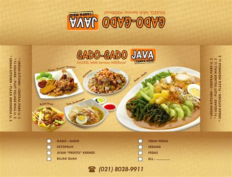 desain gerobak gado gado gado gado java box packaging